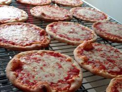 Pizzas at Original Bruni's Pizza
