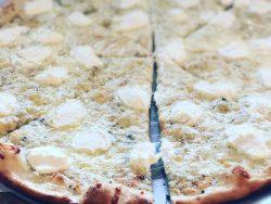 White Pizza from Original Bruni's Pizza